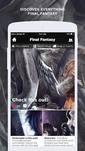 Noctis Amino for Final Fantasy  screenshots EasyGameCheats.pro 2