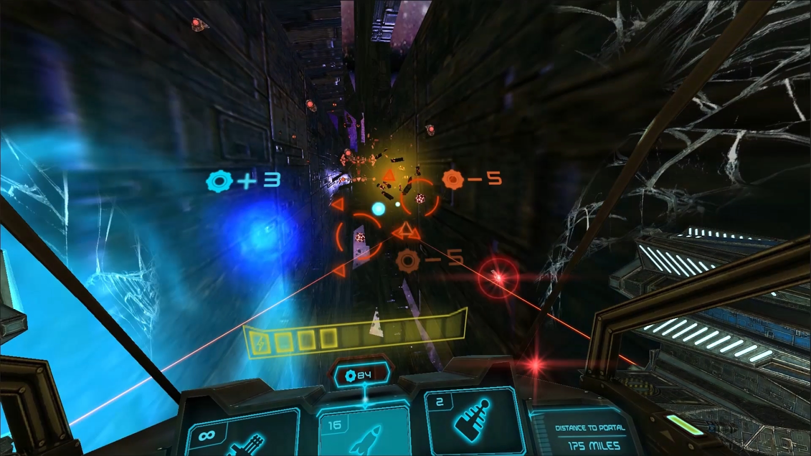 Space Stalker VR- screenshot
