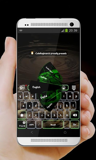녹색 퓨마 GO Keyboard