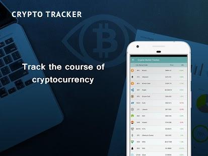 Bitcoin Crypto Tracker - náhled