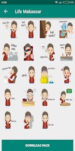 Stiker Wa Logat Makasar Asik Whatsapp Emoticon For Pc