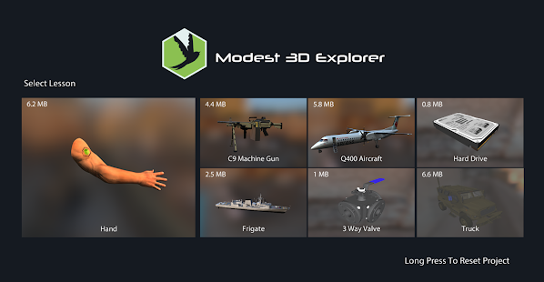 Modest3D Explorer- screenshot thumbnail