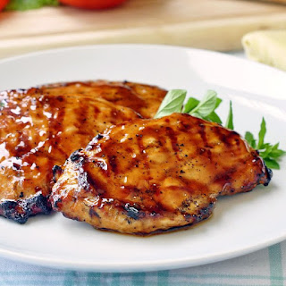 Brown Sugar and Balsamic Glazed Chicken.