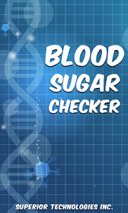 Blood Sugar Test Checker Prank Screenshot