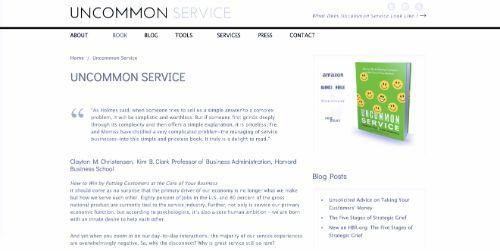 Uncommon Service (Anne Morriss and Frances Frei)