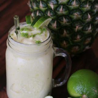 Pineapple Smoothie.