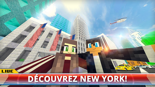 New York City Craft: Jeux de Construction de NYC captures d'u00e9cran 1