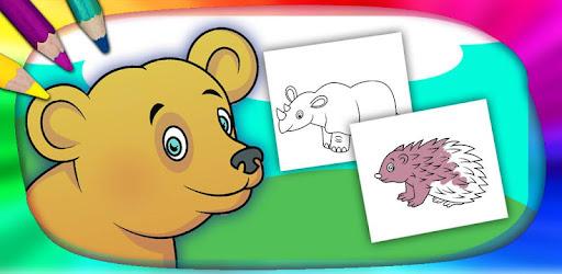 Color And Paint Wild Animals Aplikasi Di Google Play