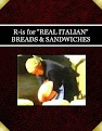 """R-is for """"REAL ITALIAN"""" BREADS & SANDWICHES"""