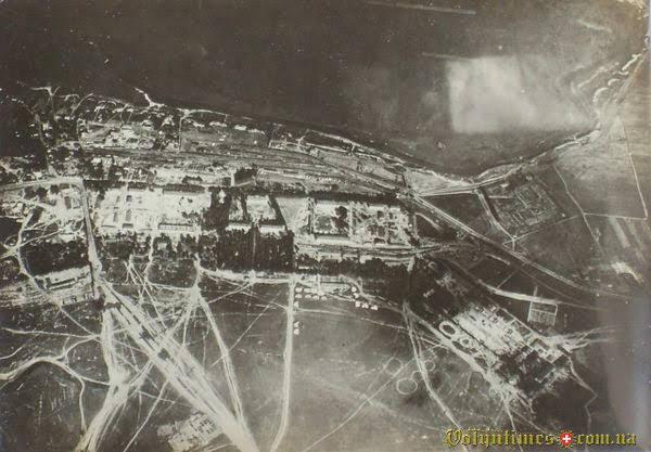 Луцький аеродром Перша світова війна. Фото австро-угорського офіцера Яна Віжейського.