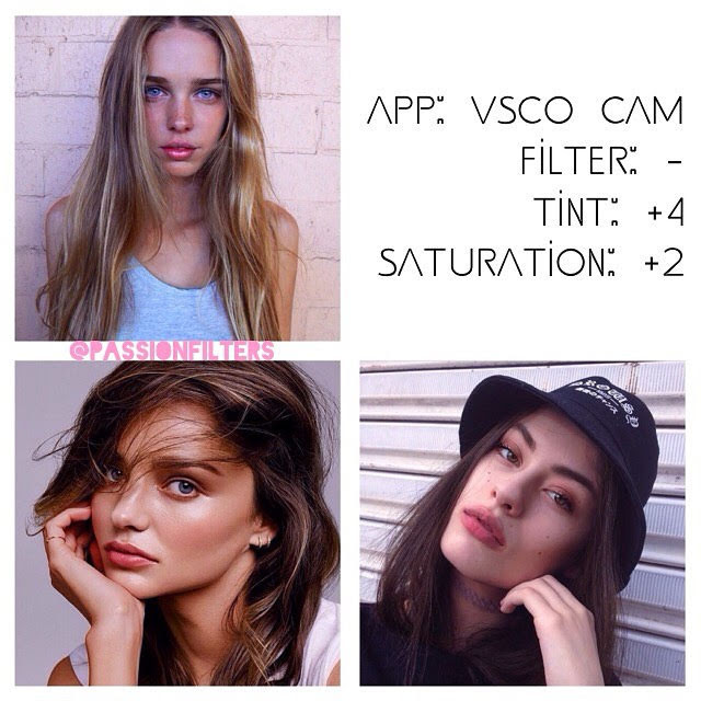 100 Best VSCO Filters for Selfies - VSCO Filter Hacks