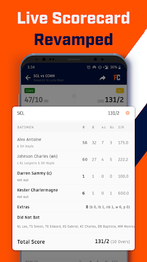 FanCode: IPL Live Scores, Cricket Videos & News ud83cudfcf 3.32.0 Screenshots 6