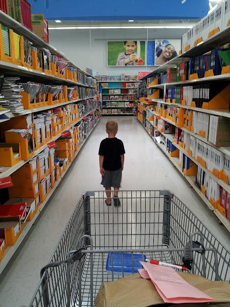 Photo: We found the school supplies