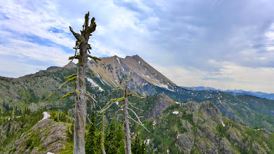 Photo: Great Northern - the highest peak in the Flathead Range (4 mile hike with 4,900 ft. gain)