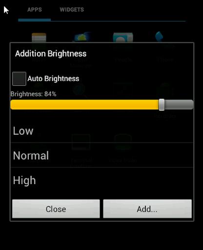 Addition Brightness