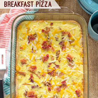 Bacon and Eggs Breakfast Pizza Recipe