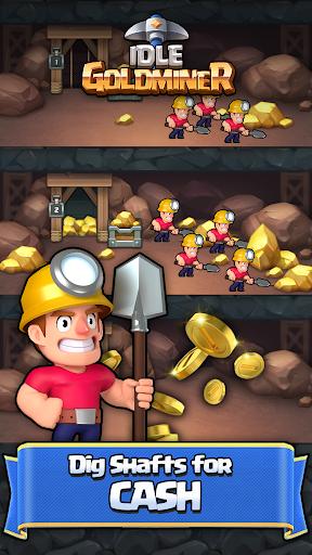 Idle Gold Miner 1.5.4 screenshots 1