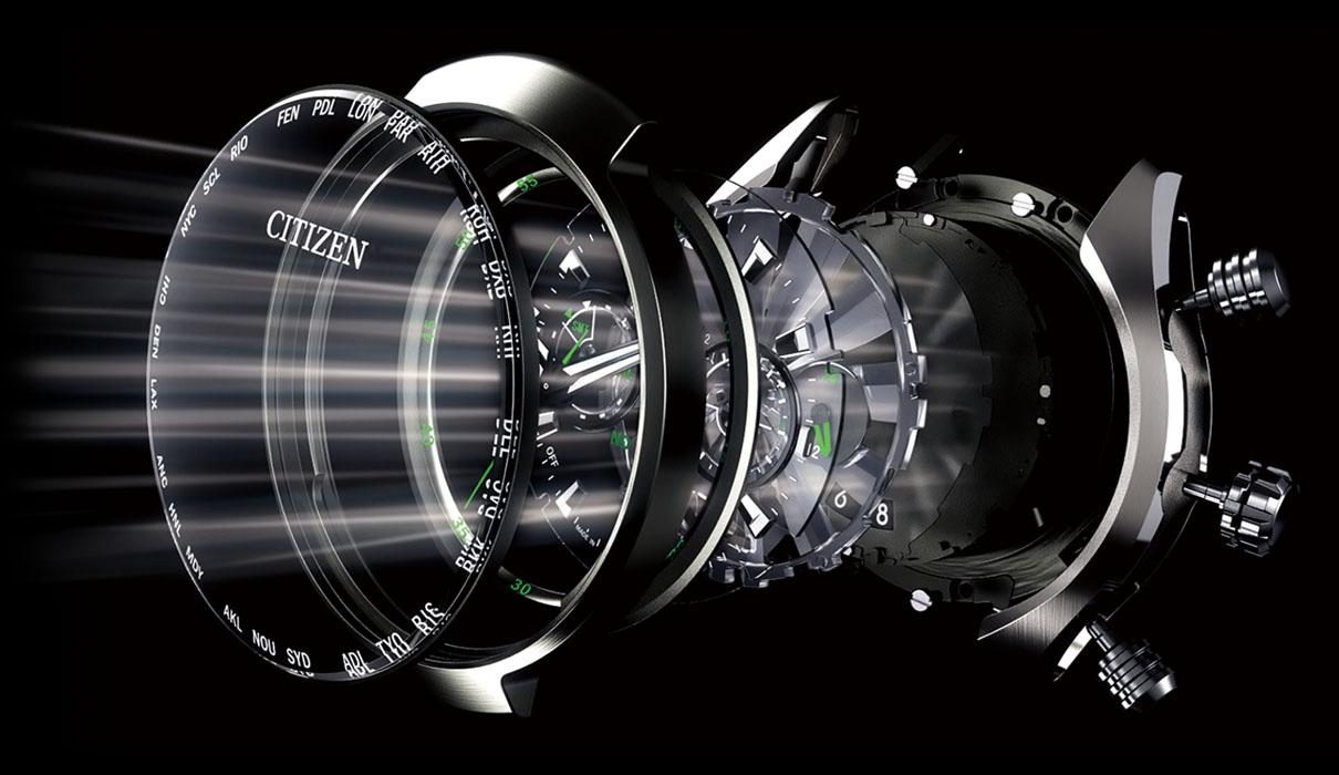 công nghệ eco-drive của citizen