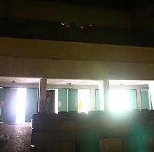 Photo: sala de proyección en lo alto