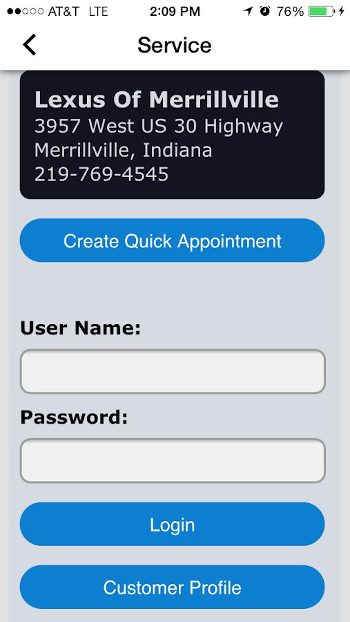 Lexus Of Merrillville Android Apps On Google Play