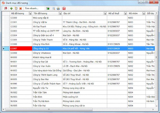 Tổng quan về danh mục phần mềm kế toán 3tsoft
