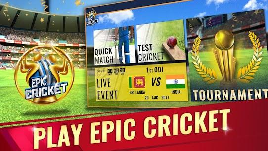 Epic Cricket MOD (Unlimited Gems) 9