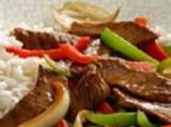 Steakhouse Beef And Pepper Stir Fry