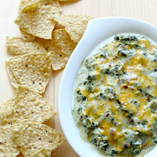Party-Sized Kale, Spinach and Artichoke Dip