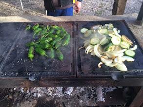 Photo: Padrons, Cebollas y Calabacin