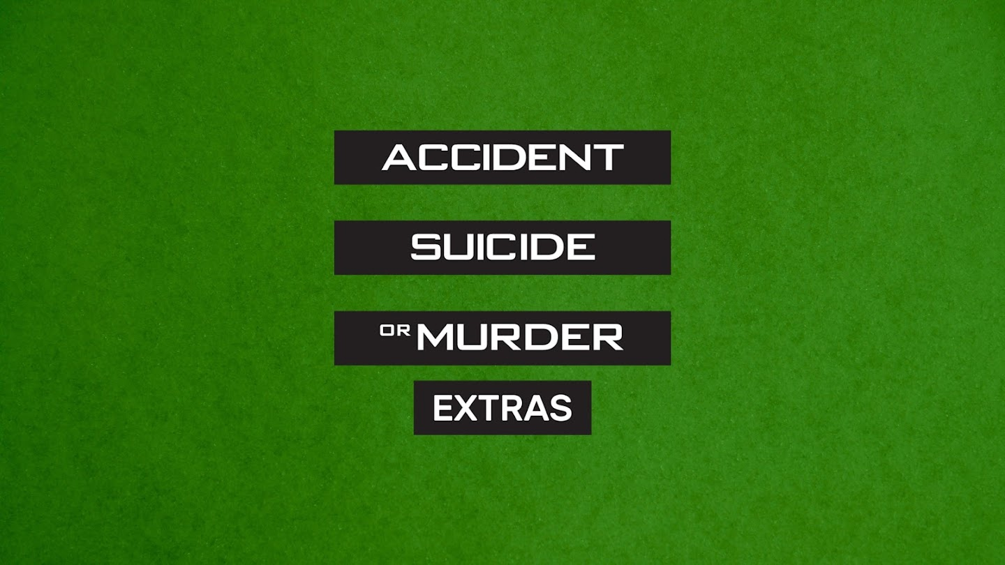 Accident, Suicide or Murder: Extras
