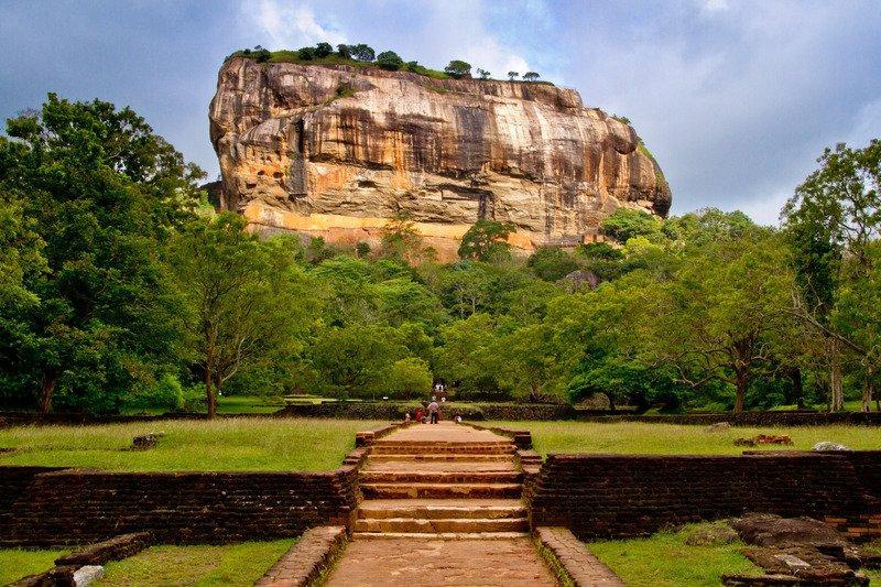 Sigiriya, Sri Lanka, Dambulla, Mountain, Unesco
