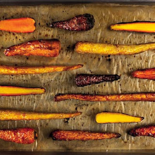 Duck-Fat Roasted Carrots.