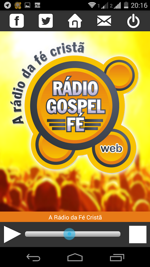 Rádio Gospel Fé- screenshot