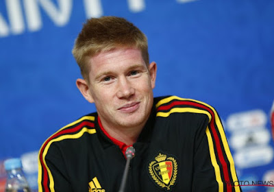 "Kevin De Bruyne veut ""le score le plus haut possible"" à Saint-Marin"