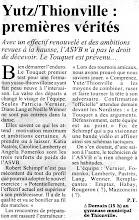 Photo: 29-09-96 N2F Le moment de vérité pour le 1er match face au Touquet