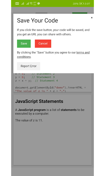 W3schools Online Tutorials – (Android Apps) — AppAgg