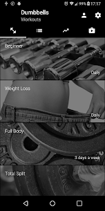 Dumbbell Home Workout (MOD, Premium) v2.23 4