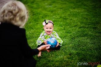 Photo: Grandma, Baby and the Ball
