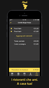 Flash Delivery Screenshot