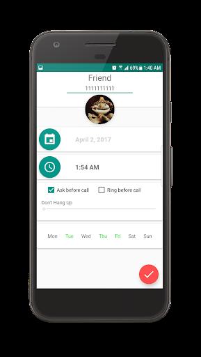 Auto Call Scheduler 1.8.3 screenshots 1