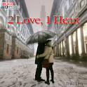 Novel Cinta 2 love, 1 heart icon