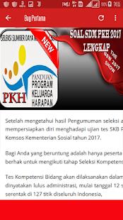 Soal SDM PKH 2017 Lengkap - náhled