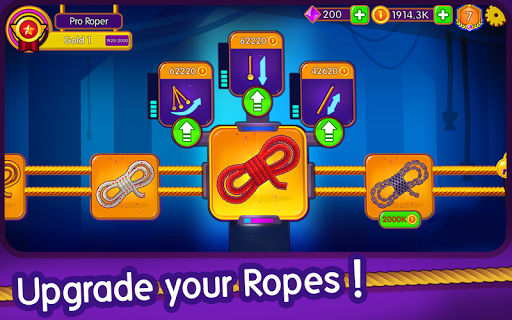 Rope Clash - Multiplayer Swing Racing 3.0.0 screenshots 2