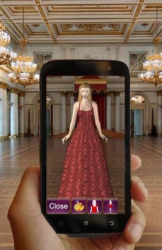Dress up Princess. 3D fashion