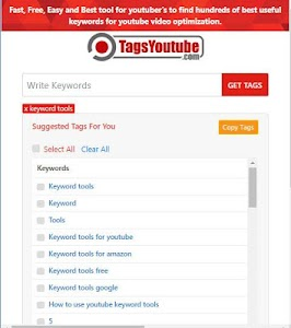 TagsYouTube - Youtube Video Tags Generator Tool 1 6 + (AdFree) APK