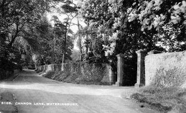 Photo: The Entrance to Wateringbury Place Canon Lane Wateringbury 1944