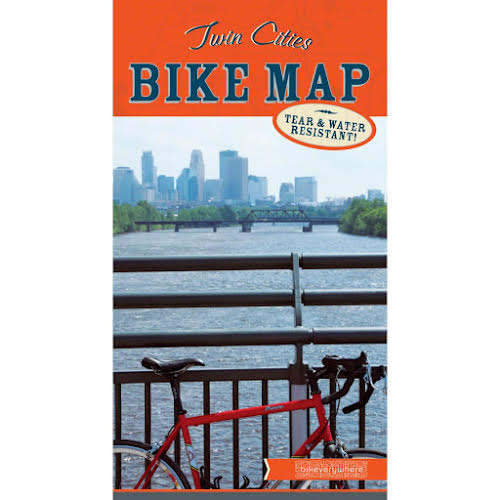 Bikeverywhere Twin Cities Bike Map: 12th Edition, 2018