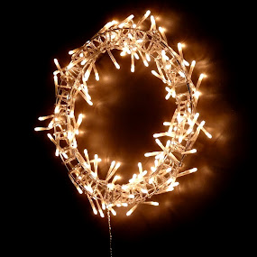 LED Wreath by Sean Leland - Public Holidays Christmas ( holiday, led, christmas, wreath, light,  )