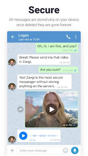 Zangi Private Messenger 4.8.1 screenshots 2
