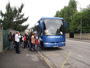 Photo: Embarquement à Briey à 8h30